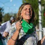 Stella Maris Manzano, en el cumpleaños de la Campaña por el Derecho a Decidir